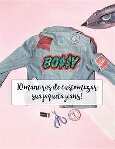 16 diy roupas customizao jaqueta ideas denim jackets