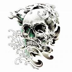 3 Skull Designs 47 Best 3d Skull Tattoos Collection