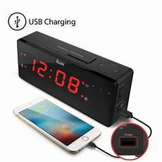 maxiaids iluv timeshaker boom jumbo led alarm clock with