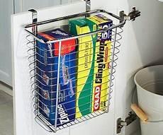 cabinet door waste basket