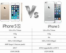 Image result for iphone 5 vs iphone 5s