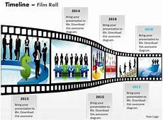 Filmstrip Powerpoint Template New Filmstrip Timeline Roadmap Diagram 0314 Powerpoint