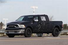 2019 Dodge Ram 1500 Mega Cab by Spied 2019 Ram 1500 Mega Cab Mule With Reshaped Tailgate