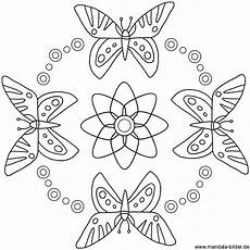 summer mandala butterflies sommer mandala mit