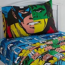 3pc marvel bed sheet set comic book