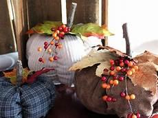 recycling clothes and fabrics for handmade pumpkins