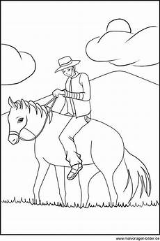 Ausmalbilder Herbst Pferde Ausmalbild Cowboy Auf Seinem Pferd Ausmalbilder Zum