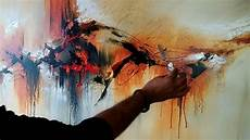 Acrylic Abstract Painting Abstract Painting Demonstration Of Abstract Painting