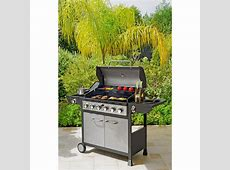 Buy Deluxe 6 Burner Gas BBQ with Cover at Argos.co.uk