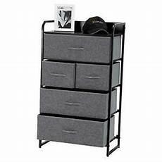 kamiler 5 drawer dresser 4 tier storage organizer tower