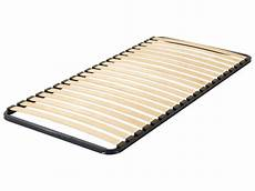 new single slatted bed base 90 x 190 cm 3 ft