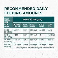 Purina One Dog Food Feeding Chart Purina One Smartblend Large Breed Puppy Formula Dry Dog