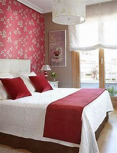 Bedroom Wallpaper Ideas Decorating The Wall Of The Bedroom Interior Design