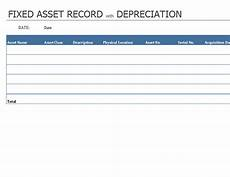 Asset Record Template Inventories Office Com