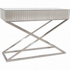 Glass And Chrome Sofa Table Png Image by Marbella Luxury Mirror Glass Console Table Chrome Base