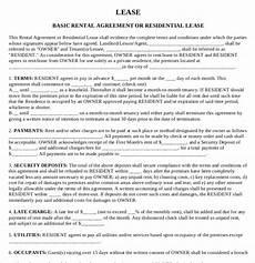 Free Rental Lease To Print Printable Rental Agreement 21 Free Word Pdf Documents