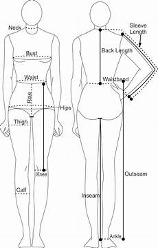 Body Measurement Chart App Printable Body Measurement Chart Learn To Sew At Home