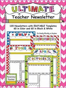 News Letter Templates For Teachers Ultimate Teacher Newsletter Teacher Newsletter