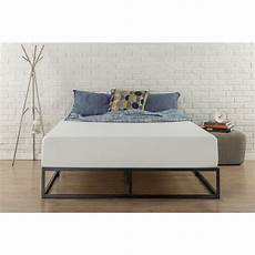 shop priage 10 inch steel box bed frame king free