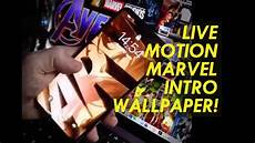 endgame wallpaper iphone xs max how to marvel studios intro iphone live wallpaper