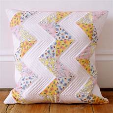 patchwork pillow messyjesse a quilt by fincham chevron