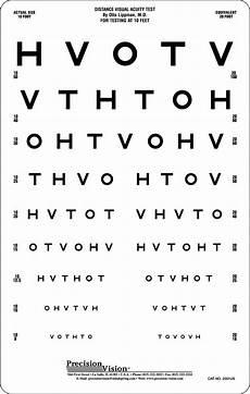 Free Printable Eye Chart Vision Test Hotv Eye Chart 10 Ft Precision Vision