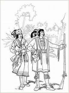 ausmalbilder indianer malvorlagen ausdrucken 4
