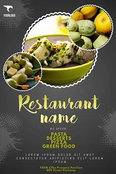 Restaurant Poster Copy Of Restaurant Flyer Template Postermywall