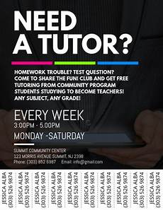 Make Flyers For Free Online Tutoring Service Flyer Template Postermywall