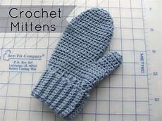 half crochet mittens