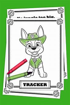 free paw patrol coloring pages happiness is