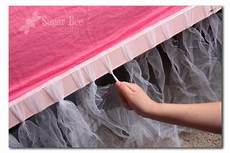 bed tutu tulle bedskirt room rooms
