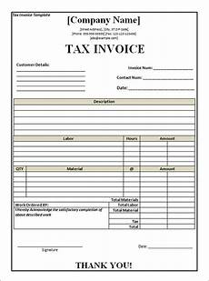 Invoice Example South Africa Tax Invoice Template South Africa Invoice Example