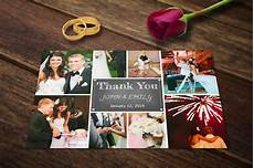 thank you card photoshop template free wedding thank you card template psd postcard templates