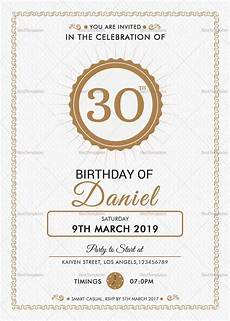 Free Party Templates For Word Birthday Party Invitation Design Template In Word