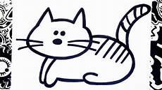 como dibujar un gato how to draw a cat
