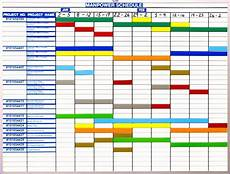 Master Calendar Template 10 Excel Production Schedule Template Excel Templates