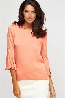 flair sleeve blouse flare sleeve sheer blouse just 6