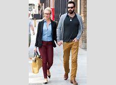 Katherine Heigl's husband Josh Kelley colour coordinates