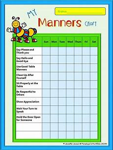 Home Use Behavior Chart Chore Charts Free Chores Healthy Habits Manners