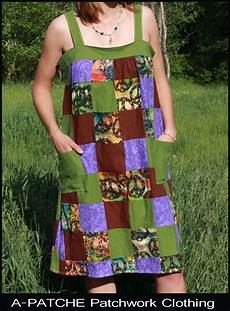 a patche patchwork clothing
