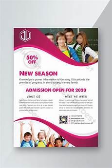 Education Leaflet Design Education Flyer Design Ai Free Download Pikbest