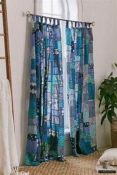 magical thinking patchwork curtain patchwork curtains