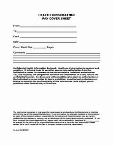 Fax Facesheet Medical Fax Cover Sheet Template Free Download Create