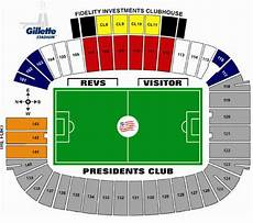 Gillette Stadium Soccer Seating Chart Gillette Stadium Foxborough Ma Seating Chart View