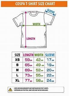 Slim Fit Shirt Size Chart Uk Tshirt Width Cospa T Shirt Size Chart Size Chart Size