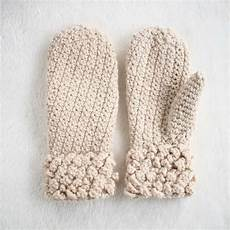 gorgeous free crochet mitten pattern for adults and