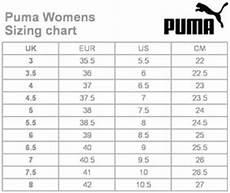 Puma Mens Shoes Size Chart Puma Shoes Youth Size Chart Come Take A Walk