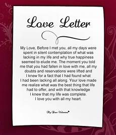 A Love Letter To My Husband Love Letters For Her Romantic Love Letter For Girlfriend