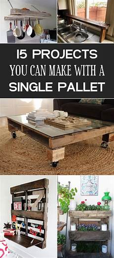 What To Do A Project On 15 Diy Projects You Can Make With A Single Pallet Wooden